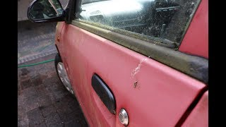Download Algae, Lichen, Moss and badly faded paint. Bringing a nakered car back from the brink Video