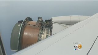 Download United Airlines Engine Falls Apart Mid-Flight Video