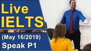 Download IELTS Live - Speaking Part 1 - Practice for Band 9 Video
