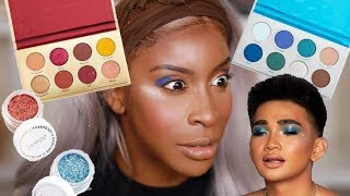 Download Bretman You Ain't SLICK! Trying the Bretman Colourpop Collection! | Jackie Aina Video