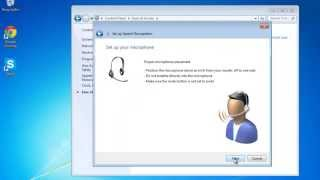 Download How to Use Speech Recognition in Windows 7 Video
