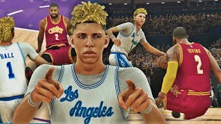 Download NBA 2K17 MyCAREER LaMelo Ball #6 - LaMelo Breaks Kyrie Ankles!! Video