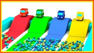 Download JUMPING CARS Ball Pool! - Cartoon Cars Videos for Kids. Cartoons for Children - Kids Cars Cartoons Video