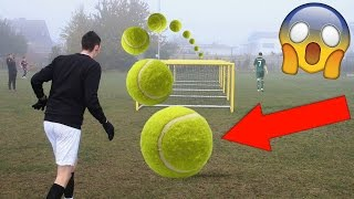 Download EXTREME TENNIS FOOTBALL CHALLENGES VS BRO!!!! Video