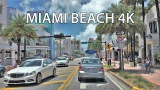 Download Driving Downtown - Miami Beach 4K - USA Video