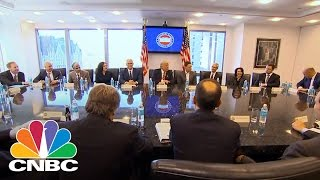 Download Tech Titans Jeff Bezos, Sheryl Sandberg Meet With Donald Trump Transition Team | Power Lunch | CNBC Video
