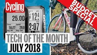 Download Tech of the Month: July 2018 | Budget Special | Garmin, Wahoo, Hunt & Canyon | Cycling Weekly Video