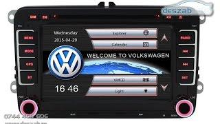 Download VW / Skoda / Seat Multimedia MMD510 ( CanBus - GPS / DVD / Navigatie ) TEL 0744 405 606 Video