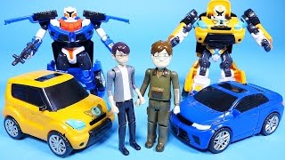 Download Tobot car toys transformers robot cars Hello Carbot and Deltatron 또봇 Video