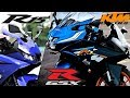 Download Mejores motos deportivas pequeñas    Yamaha vs Suzuki vs KTM Video