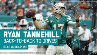 Download Ryan Tannehill Ices the Game with Back-to-Back TD Drives! | Bills vs. Dolphins | NFL Video