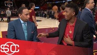 Download Donovan Mitchell shuts down Stephen A. Smith comparing him to LeBron James | SportsCenter | ESPN Video