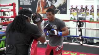 Download UFC star Kevin Lee training inside the Mayweather Boxing Club Video