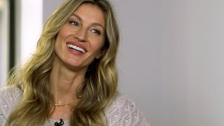 Download Gisele Bündchen on new book, modeling career and family Video