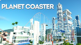 Download Planet Coaster Creations : THE SCI FI CITY THEME PARK!! Video
