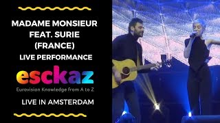 Download ESCKAZ in Amsterdam: Madame Monsieur (France) feat. SuRie - Mercy Video