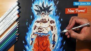 Download Drawing Goku's NEW FORM! - ULTRA INSTINCT! Video