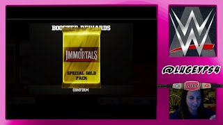 Download WWE IMMORTALS - Mystery Gold Pack !! Video