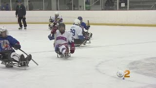 Download Sled Hockey Gets Disabled Athletes Back In The Game Video