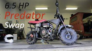 Download FAST Mini Bike Engine Swap! Video
