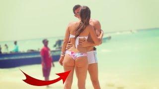 Download KISSING GIRLS in BIKINI! Social Experiment Video