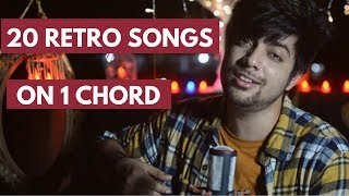 Download 20 Songs on One Chord | Old Hindi Songs Mashup / Medley | Siddharth Slathia Video