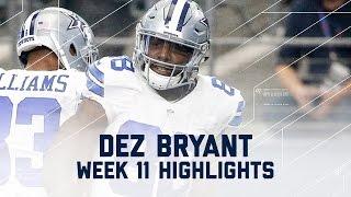 Download Dez Bryant's 2-TD Day! | Ravens vs. Cowboys | NFL Week 11 Player Highlights Video