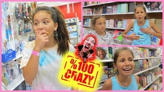 Download 100 % CRAZY IN TARGET ″ MYSTERIOUS THINGS HAPPENED ″ SISTER FOREVER Video