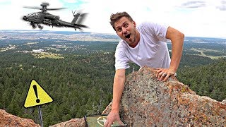 Download HIDDEN MYSTERY BOX ON MILITARY BASE! (geocache) Video