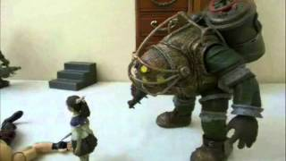 Download Bioshock Stop Motion - Big Daddy Problems (Old) Video