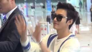 Download Lee Min Ho 20140615 Gimpo Airport 중국 출국 Video
