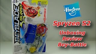 Download Beyblade Burst by Hasbro - SPRYZEN S2 Unboxing & Review (Happy New Year!!) Video