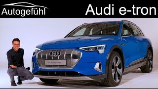 Download Audi e-tron REVIEW Premiere production car all-new Audi etron EV - Autogefühl Video