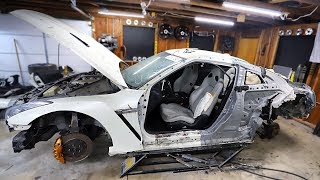 Download Removing the Damaged Quarter Panel & Door From My Totalled GTR Video