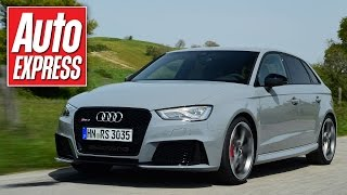 Download New Audi RS3: behind the wheel of 362bhp hyper-hatch Video