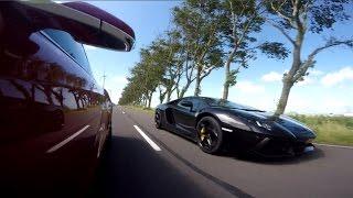 Download Tesla Model S P90D vs. Lamborghni Aventador LP700-4 Video