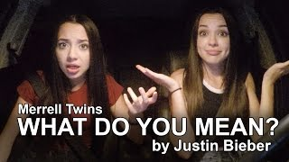 Download What Do You Mean? - Justin Bieber - Merrell Twins Video