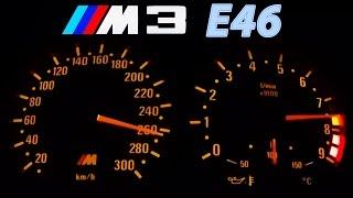 Download BMW M3 E46 Acceleration 0-270 Onboard + Burnout + Sound Beschleunigung Exhaust Video