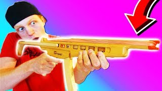 Download WORLD'S CRAZIEST RUBBER BAND MACHINE GUN! Video