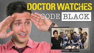 Download Real Doctor Reacts to CODE BLACK | Medical Drama Review | Doctor Mike Video
