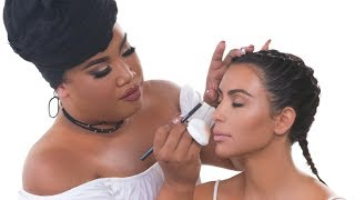Download KIM KARDASHIAN WEST MAKEUP TUTORIAL | PatrickStarrr Video