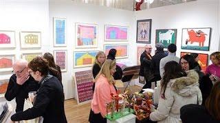 Download Go Inside the Outsider Art Fair Video