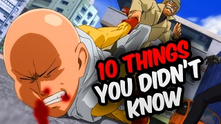 Download 10 Things You Didn't Know About One Punch Man! - One Punch Man Facts & Trivia Video