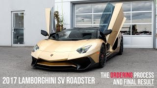 Download Buying a 2017 Lamborghini Oro Elios SV Roadster, Start to Finish Video