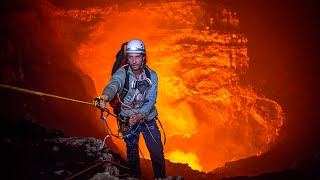 Download Expedition to the Heart of an Active Volcano | 360° Video Video