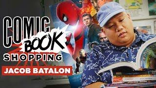 Download 'Spider-Man: Homecoming' Star Jacob Batalon Goes Comic Book Shopping & Talks Hobgoblin Video