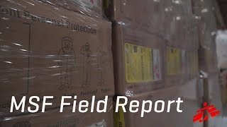 Download Ebola Materials En Route to DRC Video