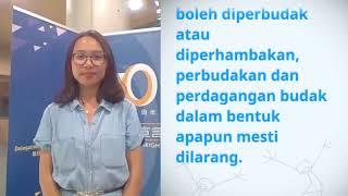 Download Ni Luh Bayu Purwa Eka Payani, Indonesia, reading article 4 of the UDHR Video