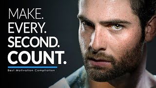 Download MAKE EVERY SECOND COUNT. - Best Motivational Video Speeches Compilation for Success & Studying Video