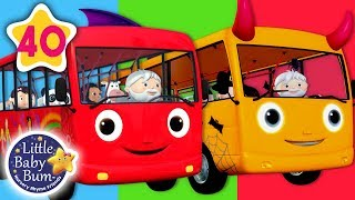 Download Wheels on The Bus | All Wheels on The Bus Songs + More Nursery Rhymes & Kids Songs | Little Baby Bum Video
